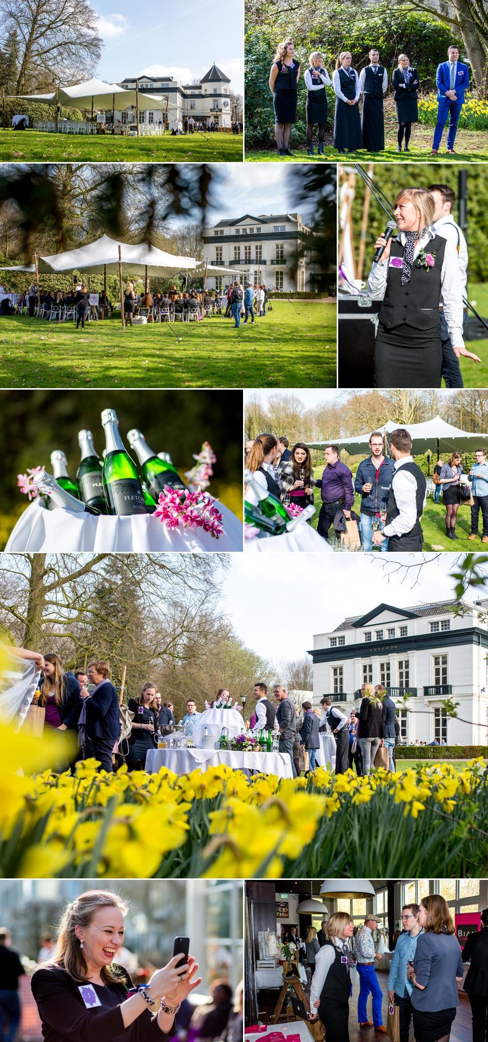 Het team van Fletcher Weddings & Landgoed Hotel Avegoor