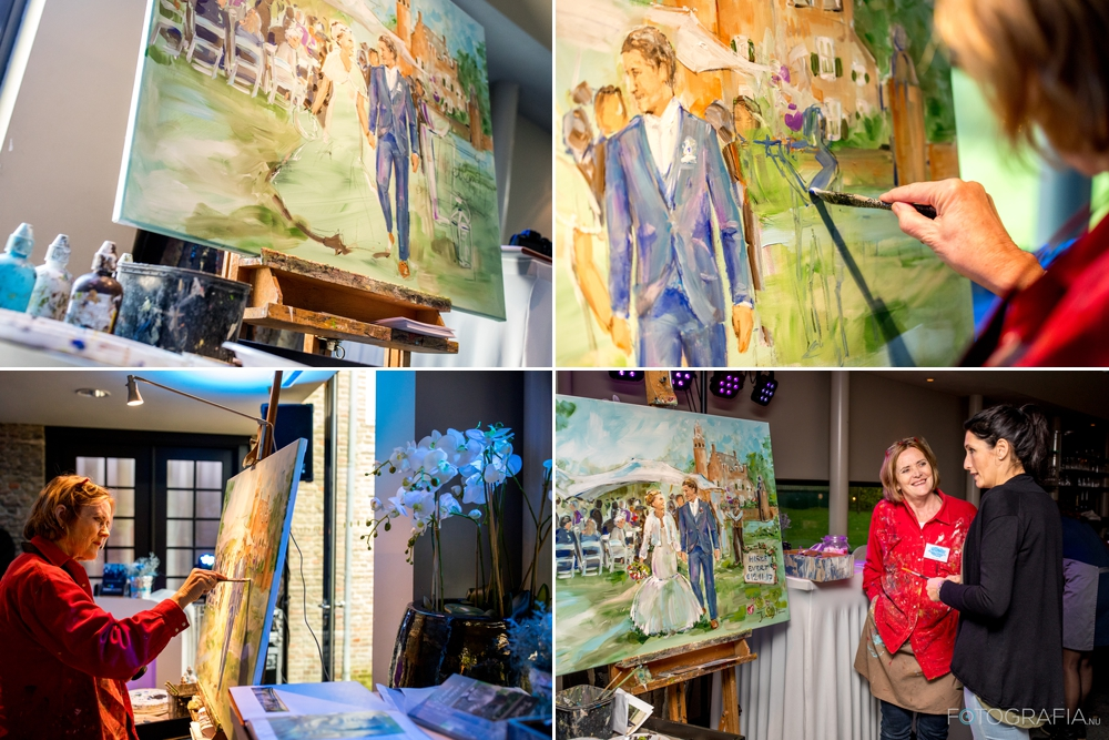 Bruiloft schilderij