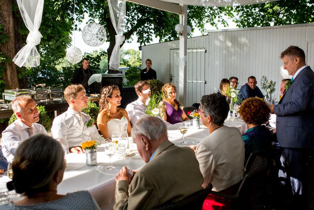 trouwen diner lommerijk rotterdam