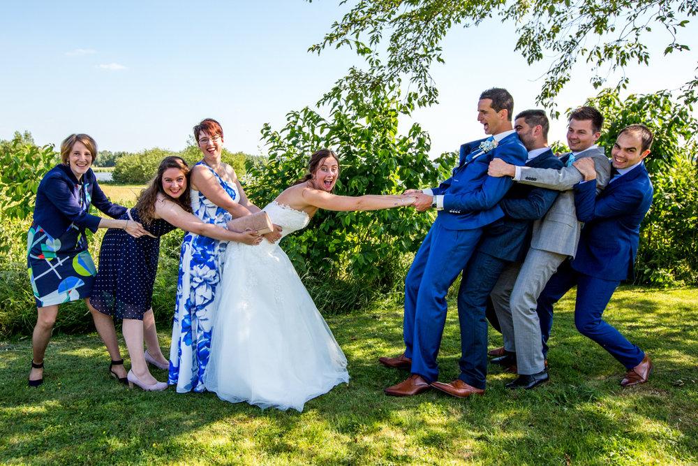 groepsfotos trouwen zwijndrecht