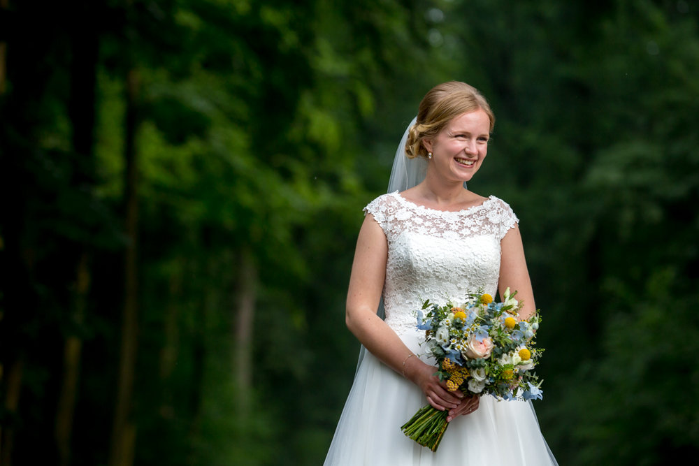 bruid trouwen trouwreportage