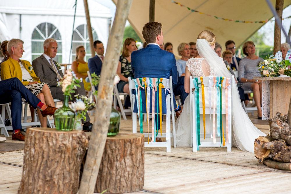 trouwen bij de boomgaard