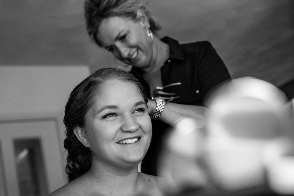 bruid visagie trouwfotograaf