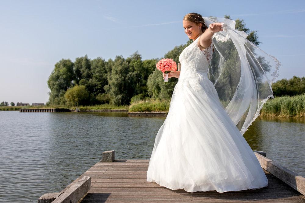 bruid fotoshoot trouwfotograaf