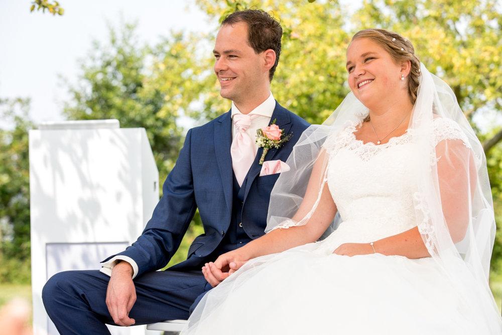 bruidspaar trouwen in reeuwijk