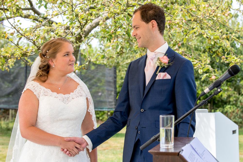 jawoord bruiloft bruidspaar