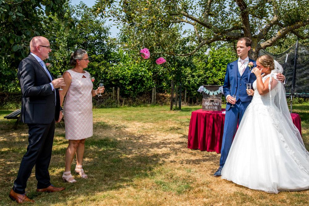 speech vader van de bruid