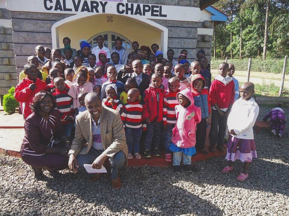 Hello from Shalom Church Calvary Chapel in Kenya! William and Judy send their love and thanks for all the support of our church in 2017. They had an amazing time with the youth at Christmas, and a wonderful picnic day where they blessed the community. Please keep our Kenyan loved ones in your prayers 🙏🏼❤️
