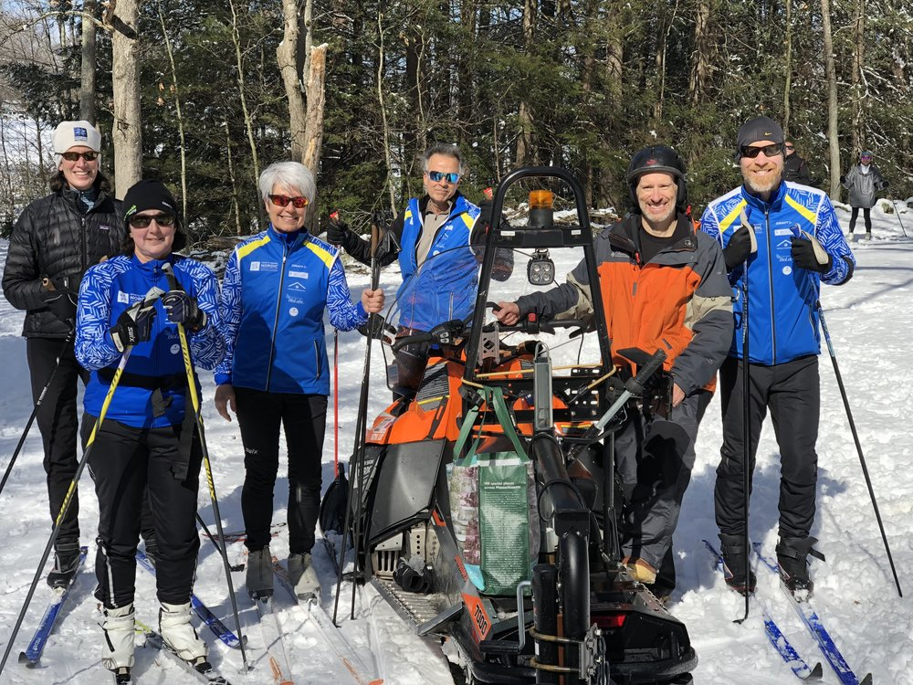 NSNA board members and volunteers enjoying the trails.