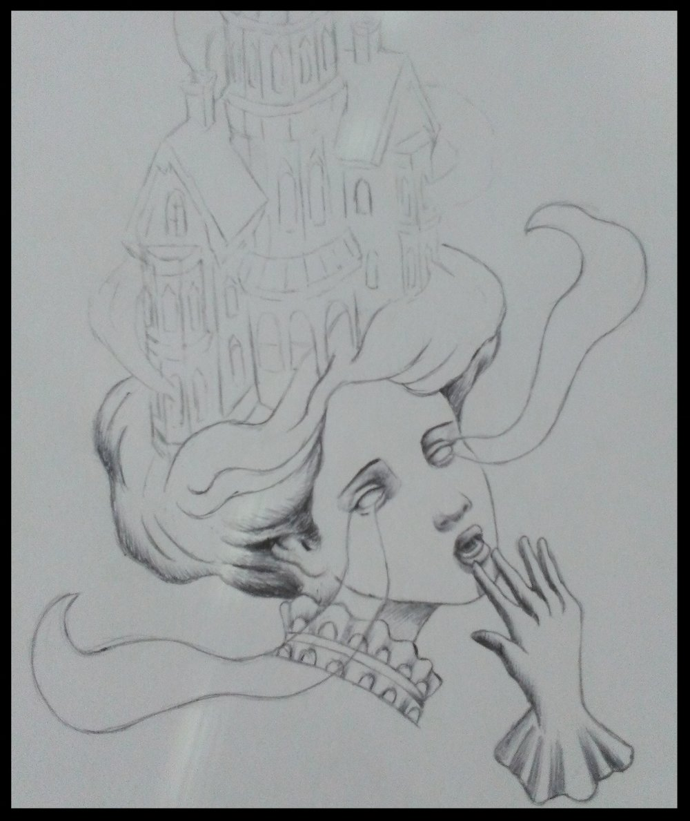 Haunted House Lady Drawing WIP 2.jpg