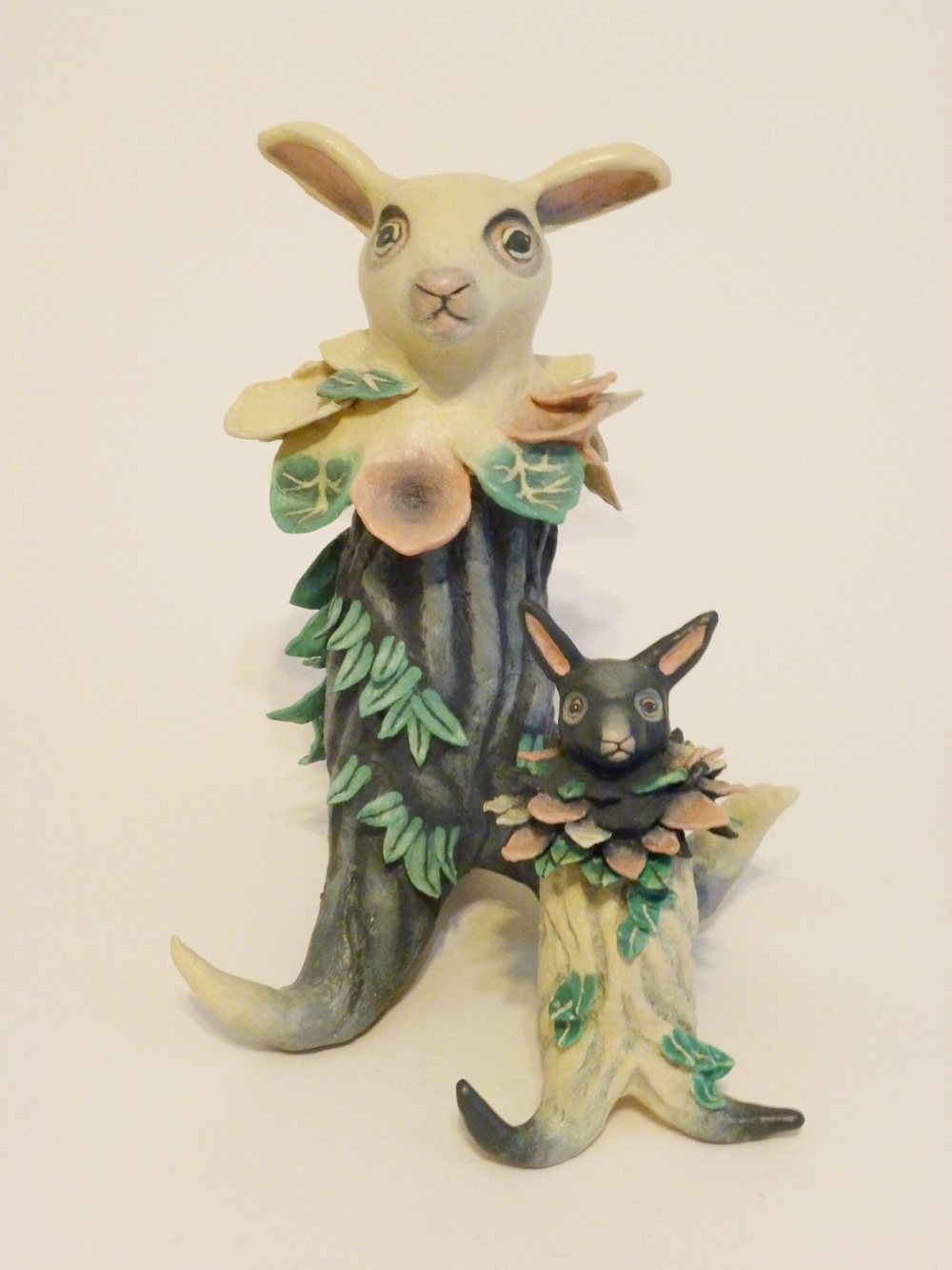 My set of 6 fantastical & whimsical sculptures (Bunny Plantimals which is plant + animal = plantimal) will be at the Jill McVarish Gallery in Astoria, OR, starting 10 November 2018 for 1 month.
