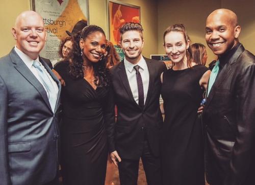 Kevin Ryan, Audra McDonald, Jordan Richard, Me & Darius de Haas