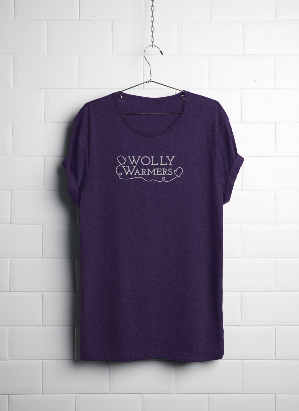 Wolly Tee Purple