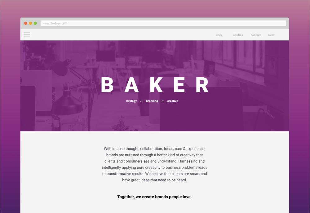 Baker Homepage
