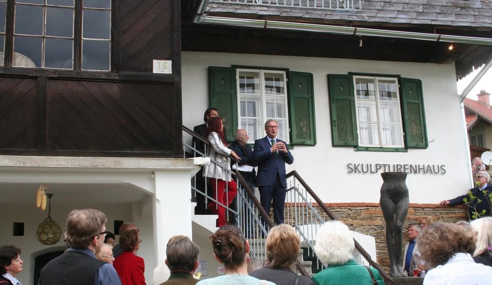 Skulpturenhaus Hortensia Eröffnung