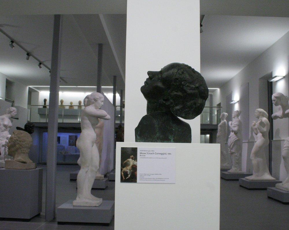 HORTENSIA Muse 3, Bronze, 1984, Langenzersdorf Museum