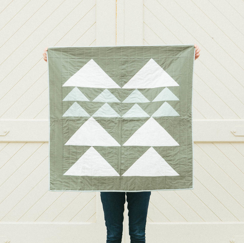 Mountain Quilt in Forest