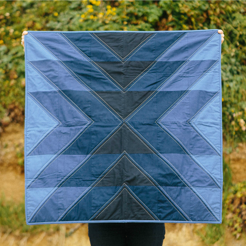 Slow Coast Quilt in Night