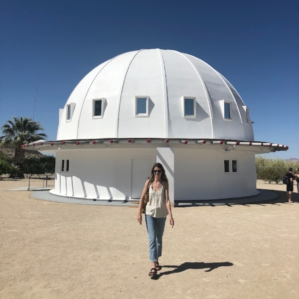 Post-sound bath at the Integratron, photo by Abigail Bock