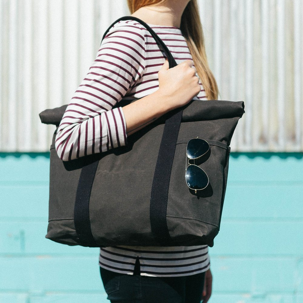 Roll Top Tote, 2016