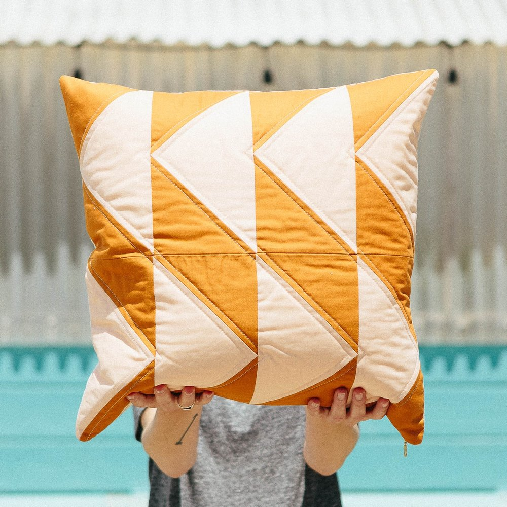 Cross Country Pillow, 2015