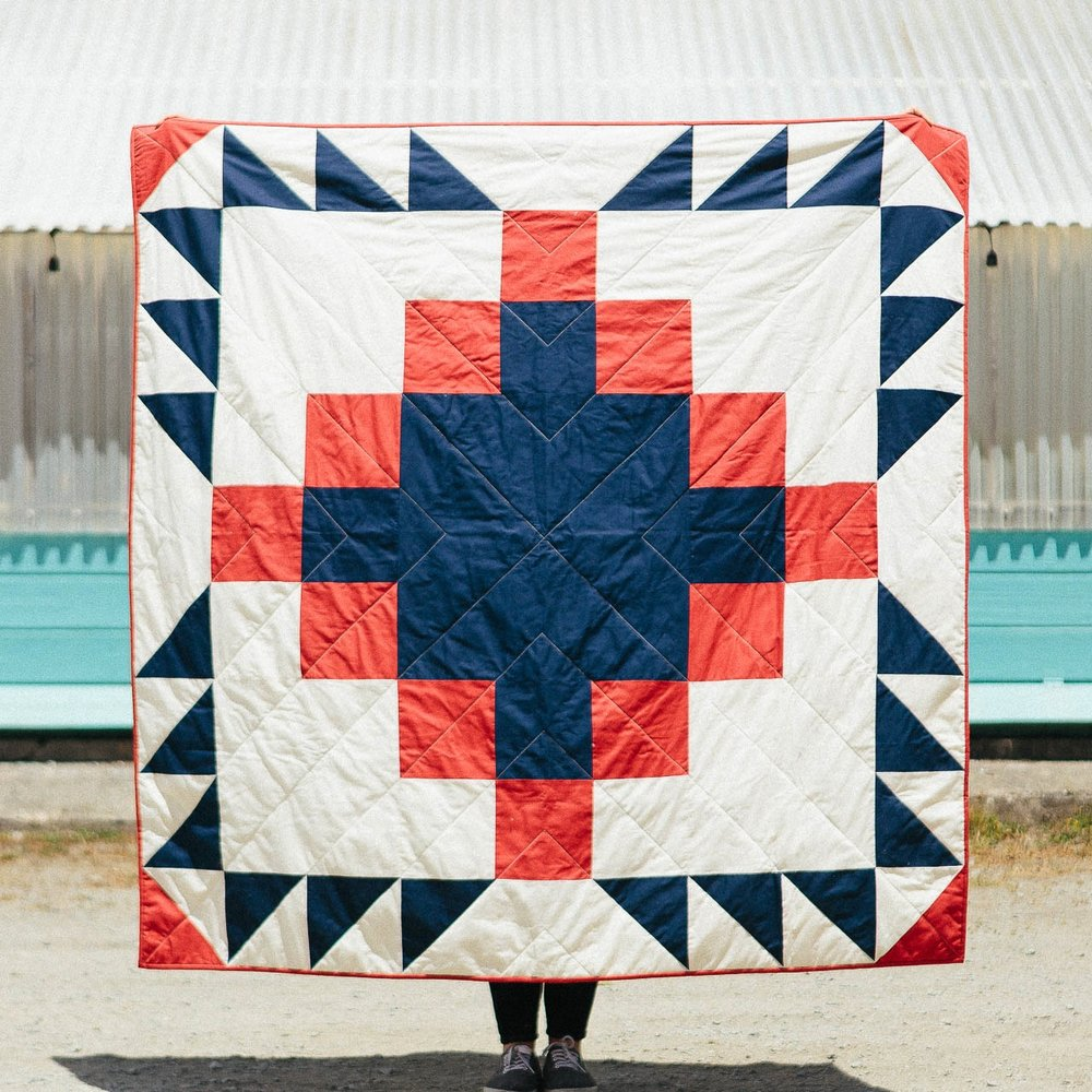 Grandfather Quilt, 2014