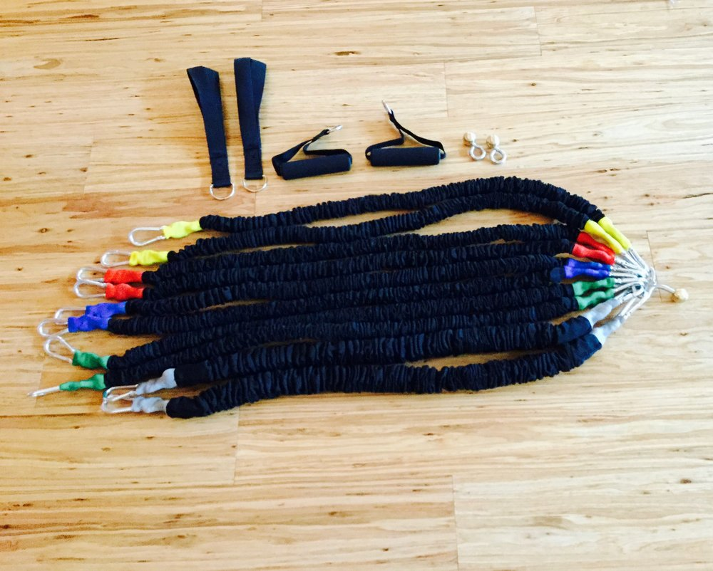 Renee's Pilates Set for the Great Yoga Wall