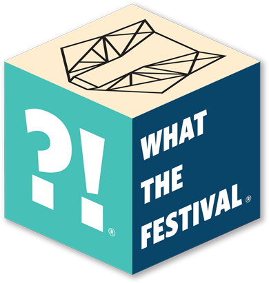 What the Festival Logo