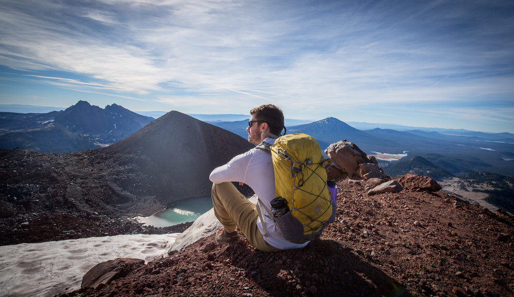 Climbing the South Sister outside Bend, Oregon