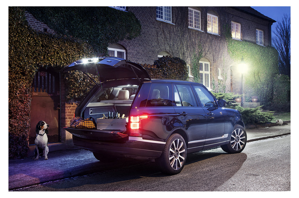 Range Rover / King Magazine
