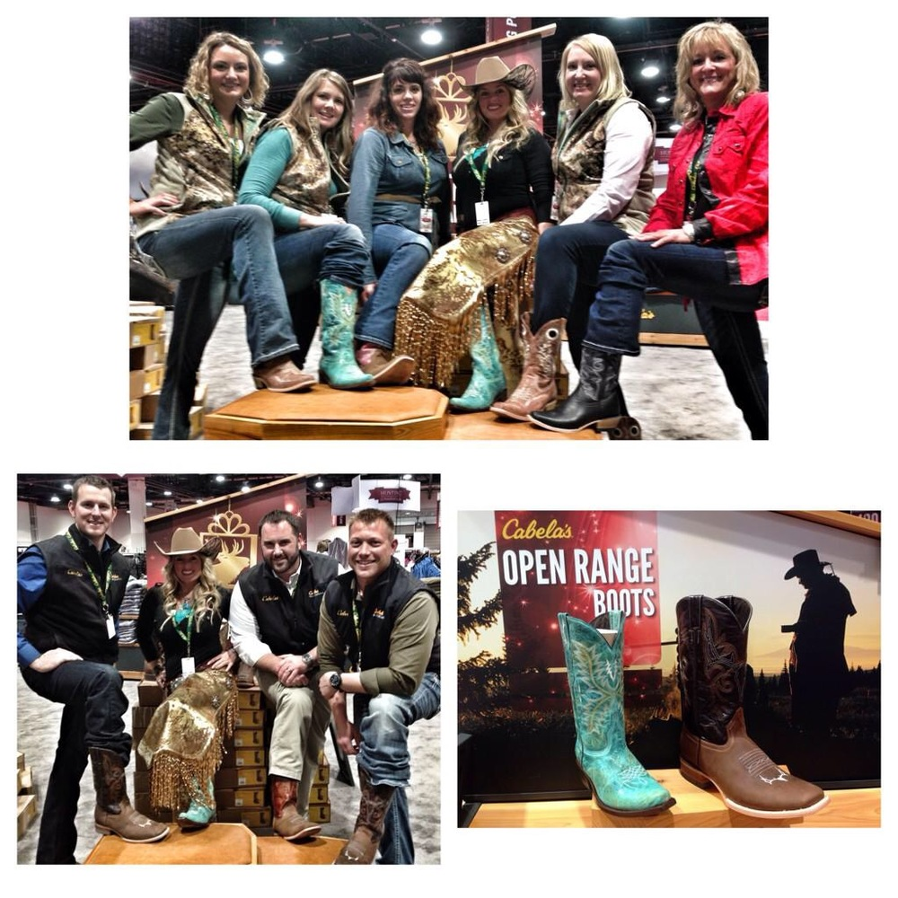 b0edd6cd ... amazing team at Cabela's that have literally made me part of the  family, working together as a team to make sure that these boots are  perfect.