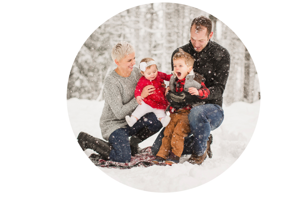 Family Snow picture