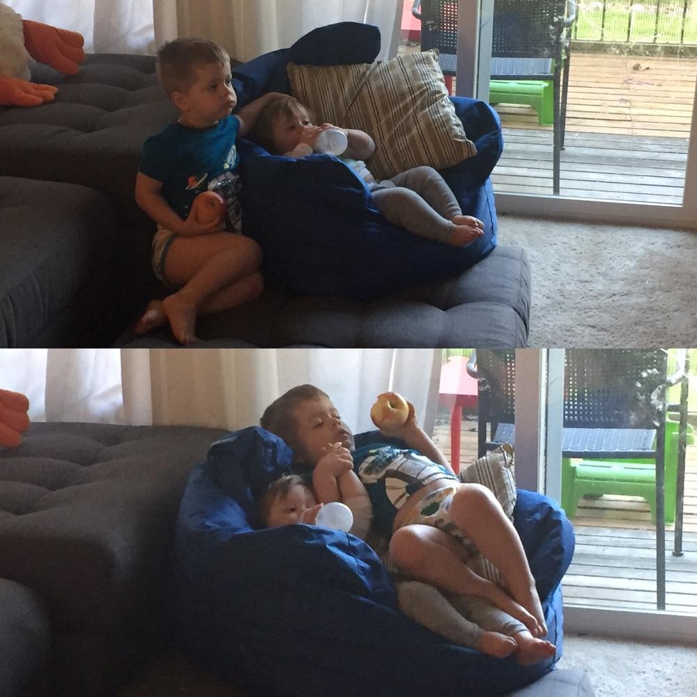 """Mama wook, my nuggle baby."""