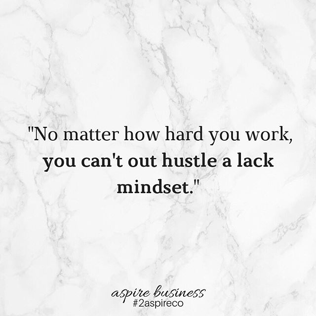 It takes more than wanting success to get it. ⠀⠀⠀⠀⠀⠀⠀⠀⠀ It even takes more than having a plan in place. The hard work and daily grind is only half the battle. ⠀⠀⠀⠀⠀⠀⠀⠀⠀ Your mindset is the rest. ⠀⠀⠀⠀⠀⠀⠀⠀⠀ No matter how hard you work, you can't out hustle a lack mindset. You will eventually have to tackle and master what's in your head. ⠀⠀⠀⠀⠀⠀⠀⠀⠀ Read the full post #ontheblog + let's talk about mastering your mindset -- 2019 is your year #claimit! ⠀⠀⠀⠀⠀⠀⠀⠀⠀ #femaleentrepreneur #womenwhowork #beingboss #sidehustle #creativebusiness #2aspireco #entrepreneur #hustle #goaldigger #girlboss #faith #mindfulness #startup #creativepreneur #businesscoach #solopreneur #businesswoman  #business #mindset #mindfulbusiness