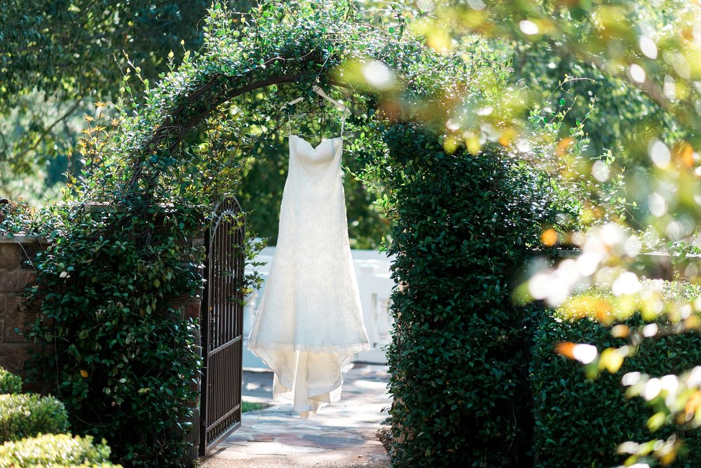 Wedding Dress - Bridals by Lori - Kyle & Erin | Scarbrough Wedding | Children's Harbor | Laura Wilkerson Photography
