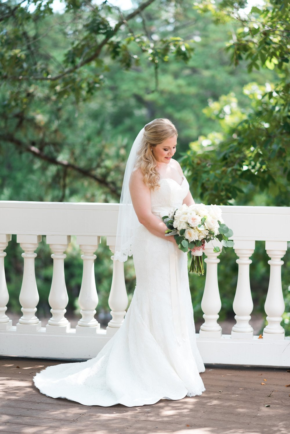 Bridal Portraits | Kyle & Erin | Scarbrough Wedding | Children's Harbor | Laura Wilkerson Photography