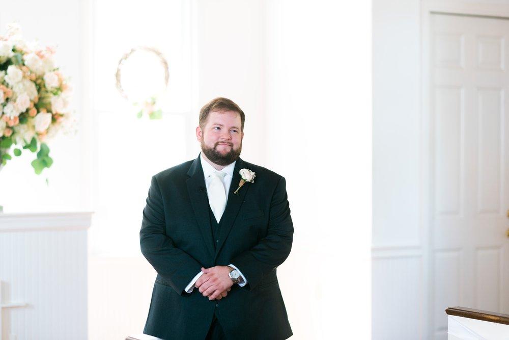 Groom | Kyle & Erin | Scarbrough Wedding | Children's Harbor | Laura Wilkerson Photography