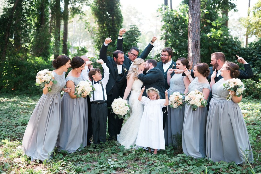 Wedding Party | Kyle & Erin | Scarbrough Wedding | Children's Harbor | Laura Wilkerson Photography