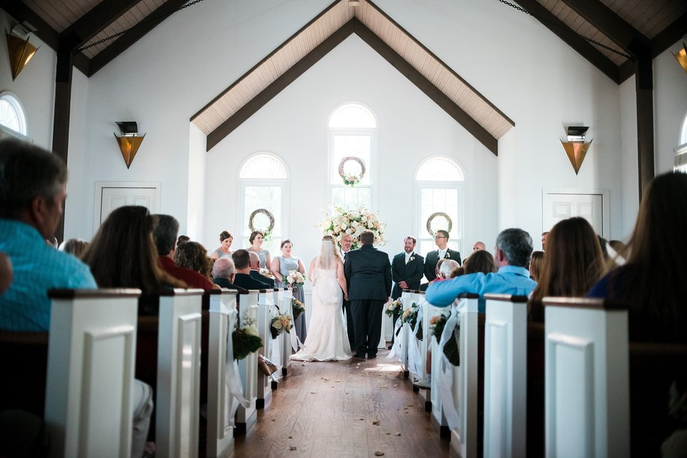 Ceremony | Kyle & Erin | Scarbrough Wedding | Children's Harbor | Laura Wilkerson Photography