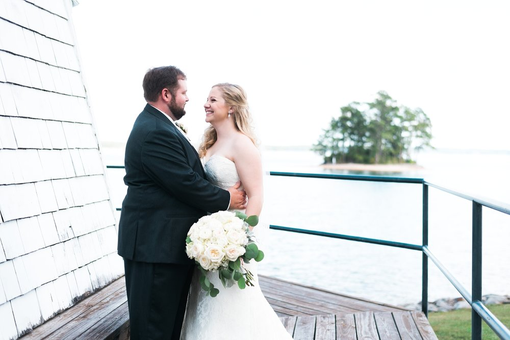Lighthouse | Kyle & Erin | Scarbrough Wedding | Children's Harbor | Laura Wilkerson Photography