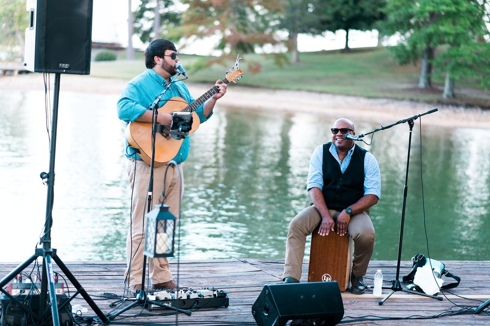 Derek Sellers Band| Kyle & Erin | Scarbrough Wedding | Children's Harbor | Laura Wilkerson Photography