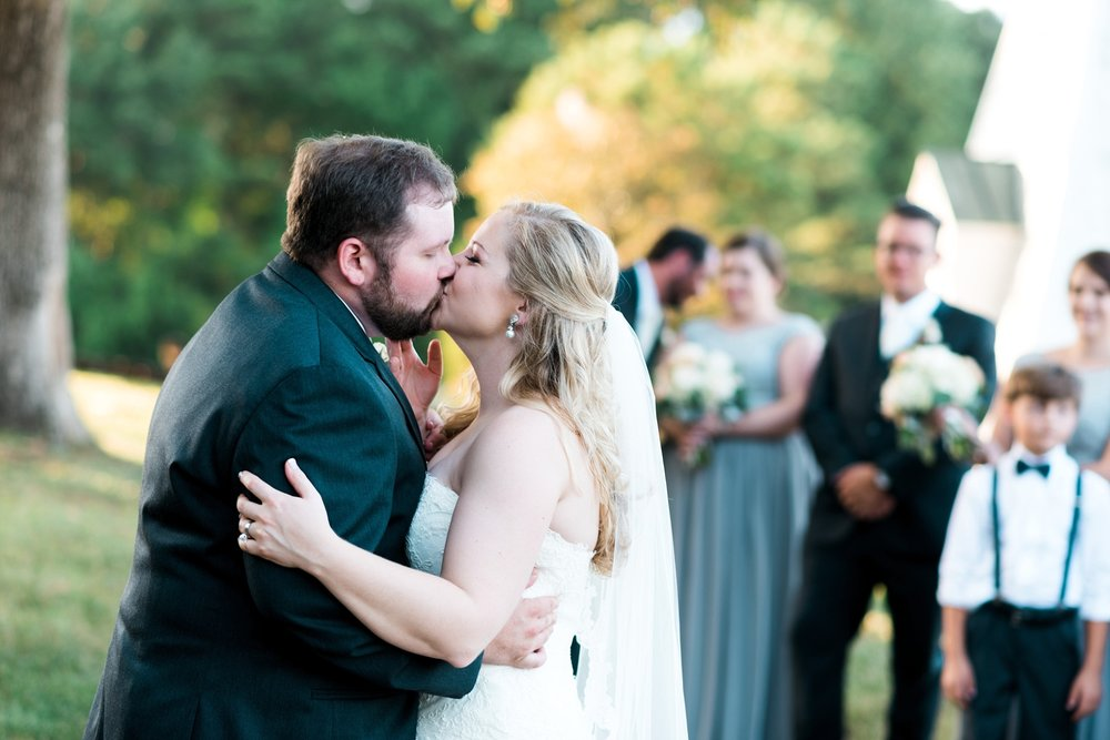 Reception | Kyle & Erin | Scarbrough Wedding | Children's Harbor | Laura Wilkerson Photography