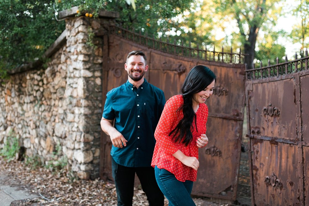 KEVIN & MARY | ENGAGEMENT SESSION IN HIGHLANDS | BIRMINGHAM, AL