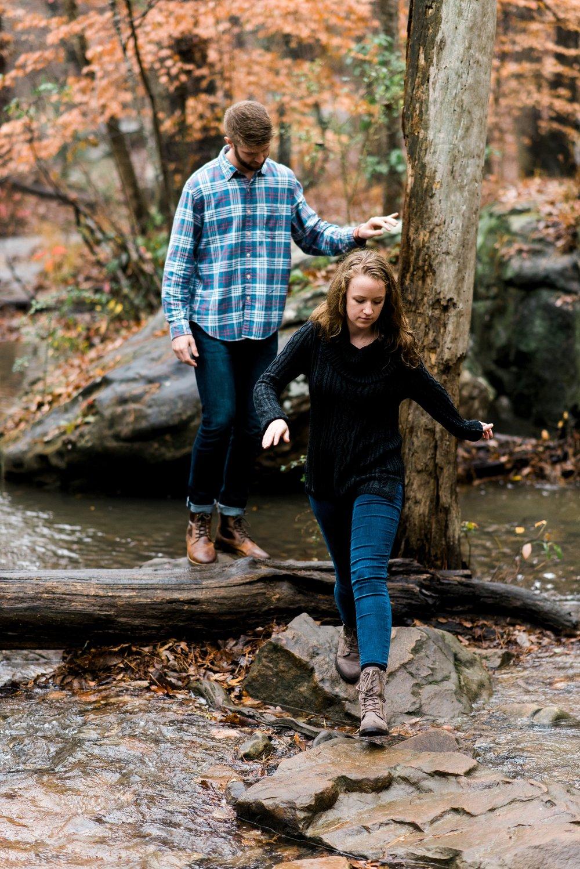 Sam & Sarah | A Moss Rock Preserve Engagement
