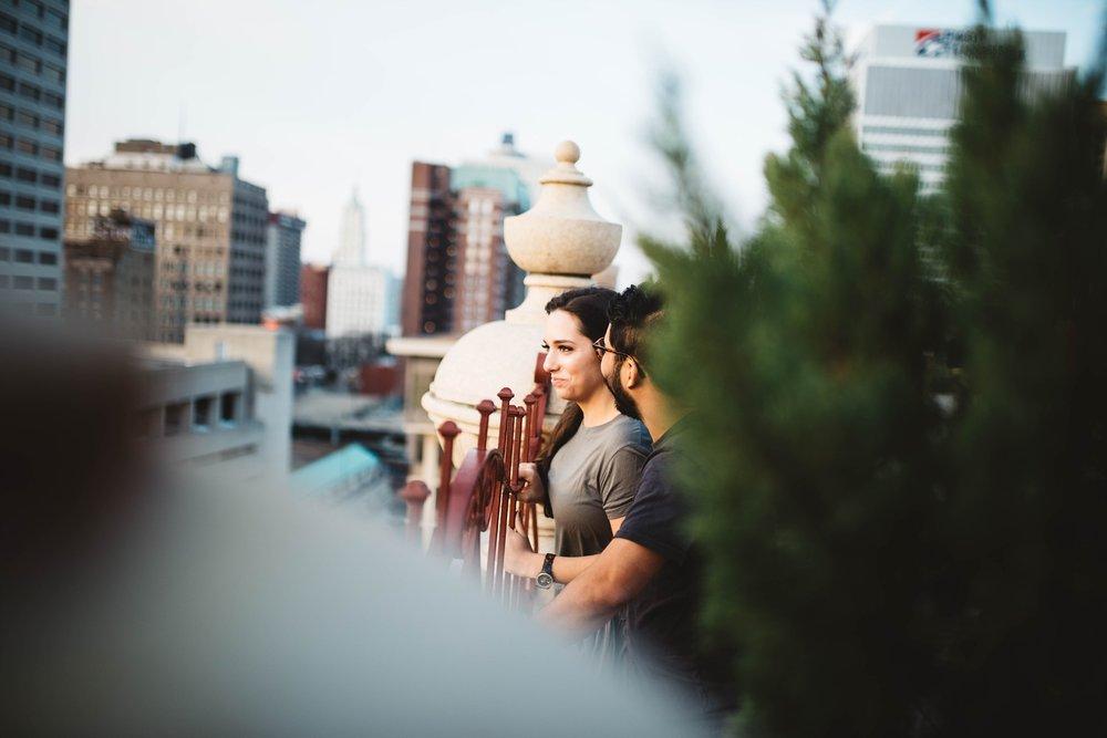 Peabody | Downtown Memphis Engagement | Taylor & Alli