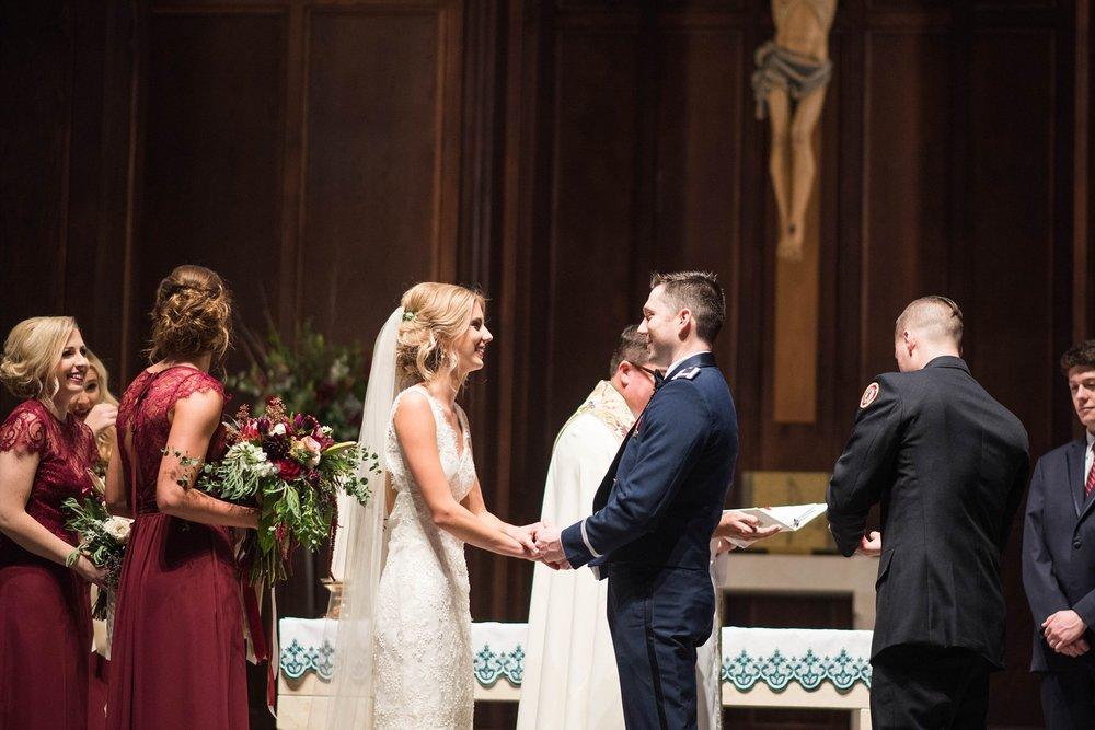 CATHOLIC WEDDING CEREMONY | MATT & MEGAN | CAREY WEDDING | B&A WAREHOUSE | ST. FRANCIS XAVIER