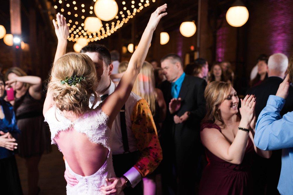 RECEPTION | MATT & MEGAN | CAREY WEDDING | B&A WAREHOUSE | ST. FRANCIS XAVIER