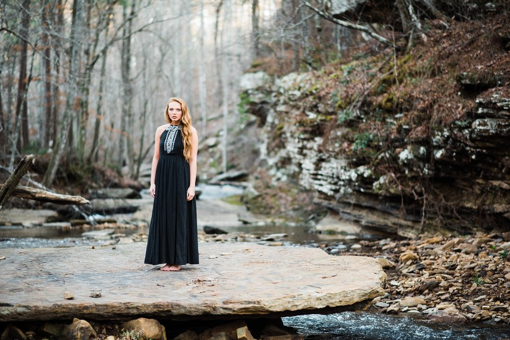 JENNY | OUTDOOR SENIOR PORTRAITS | SPRINGVILLE ALABAMA | CLASS OF 2017