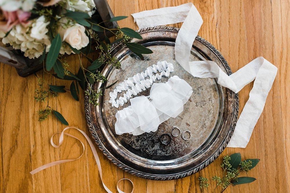 BRIDAL DETAILS| GARTER | ELEGANT SPRING WEDDING AT THE SONNET HOUSE | TJ & SHELBY | JOHNSON WEDDING