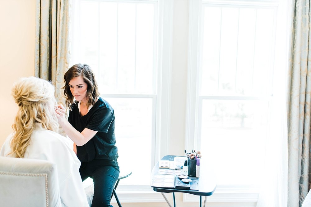 MAKEUP BY DANIELLE IVY | ELEGANT SPRING WEDDING AT THE SONNET HOUSE | TJ & SHELBY | JOHNSON WEDDING